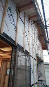 新築工事 外壁