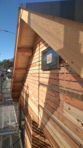 新築工事 外壁下地