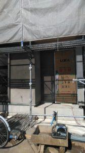 新築工事 外壁下地3