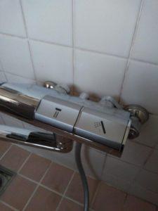 浴室水栓交換